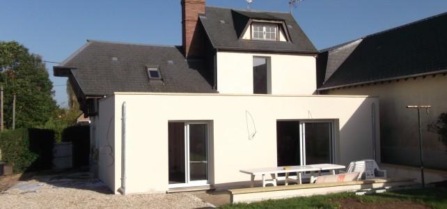 Agrandissement 40 m² avec terrasse 23 m²
